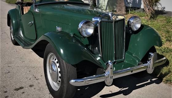 Mg td 1951 for Td garage services
