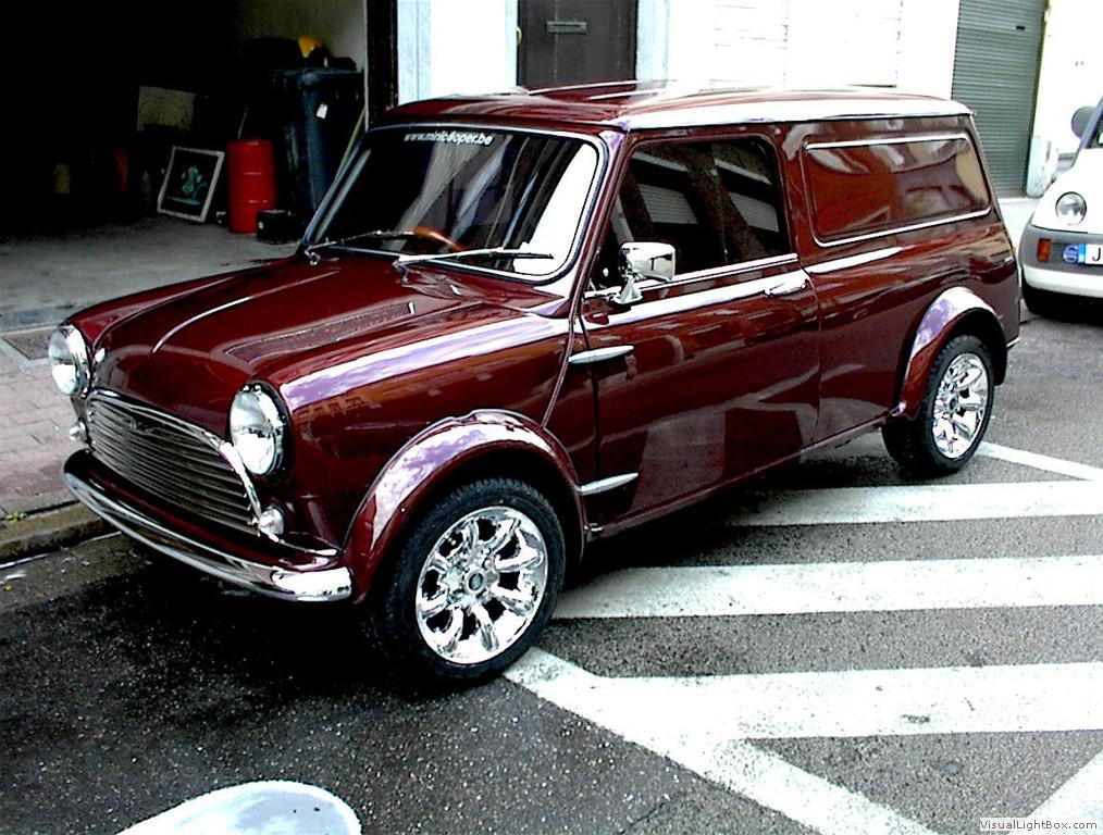 Garage car autos weblog for Garage mini cooper